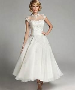 vintage tea length wedding dresses plus size wedding dress With plus size wedding dress shops