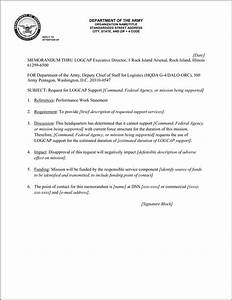 army request memo example pictures to pin on pinterest With army welcome letter template