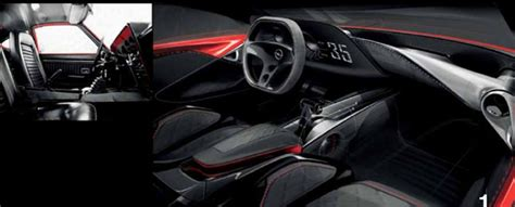 Opel Gt Interior by Opel Gt Concept 2016 Interior Sketch By