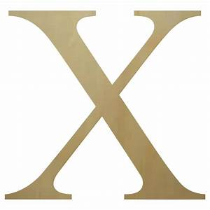 Wooden greek letter chi paintable for Buy wooden greek letters
