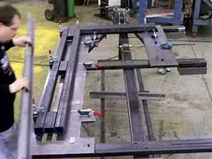 FRAME WELDING FIXTURE - WELD JIG - WELDING TABLE - SCHW
