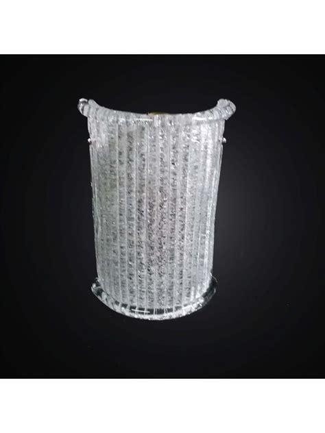 applique vetro murano applique classico in vetro murano granigliato 1 luce bga