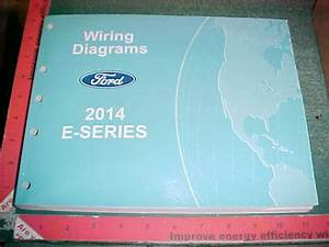 2014 Ford Econoline Wiring Diagrams Manual Mint
