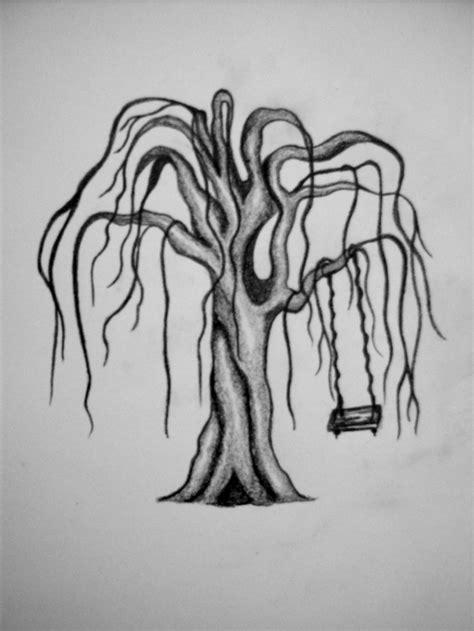 Weeping Willow Tree Tattoo Design Ideas - | TattooMagz