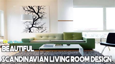 daily decor beautiful scandinavian living room design