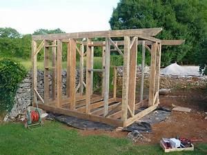 Abri De Jardin Fait Maison : abri de jardin en bois cabane de jardin la construction ~ Dailycaller-alerts.com Idées de Décoration