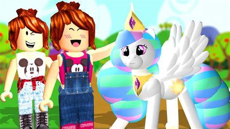 roblox viramos  pony   pony youtube