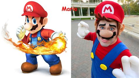 Mario Bros In Real Life Mario Characters In Real Life