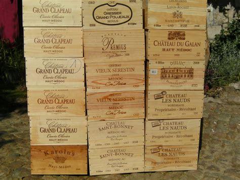 troc echange caisses de vin vides en bois sur troc