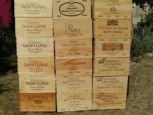 Caisse De Vin En Bois : troc echange caisses de vin vides en bois sur france ~ Farleysfitness.com Idées de Décoration