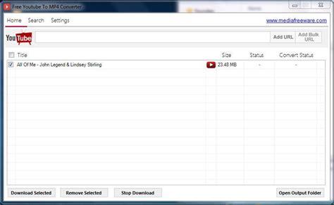 Download Free Youtube To Mp4 Converter V1.0.0 (gratis