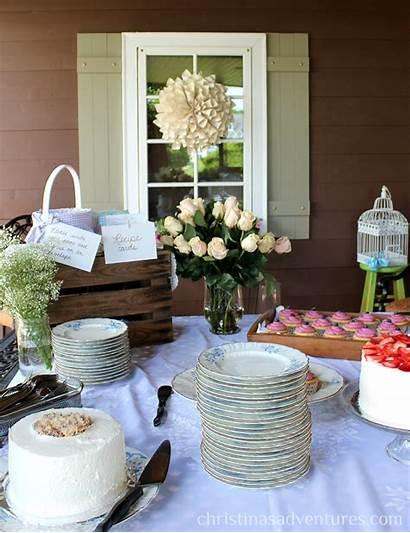 Bridal Shower Decorations Outdoor Porch Christinasadventures Gorgeous