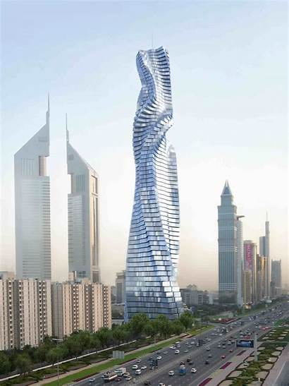 Tower Building Dynamic Twisting Fisher David Structure
