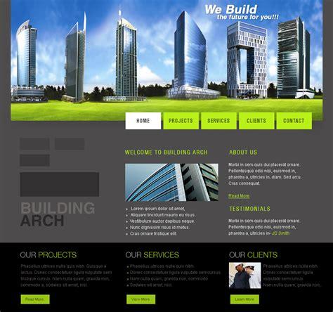 Web Templates  Architecture By Netspy9286 On Deviantart