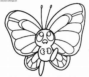 Dessin Facile Papillon : dessin facile de papillon ~ Melissatoandfro.com Idées de Décoration
