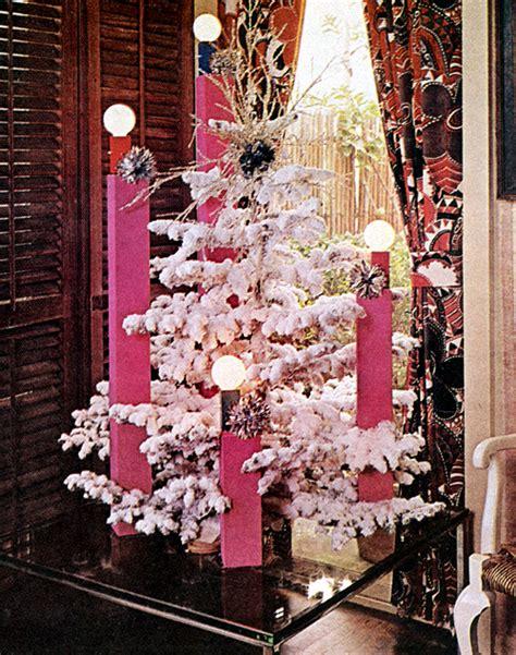 mid century living xmas tree decorating ideas from 1969