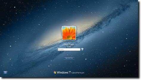 Change Windows 7 Logon Screen  Password Recovery