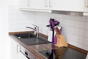 Schwarze Arbeitsplatte Küche : neue k che ~ Markanthonyermac.com Haus und Dekorationen