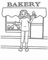 Coloring Pages Bakery Cake Printable Adults sketch template