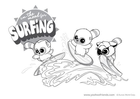 yoohoo  friends coloring pages coloring home