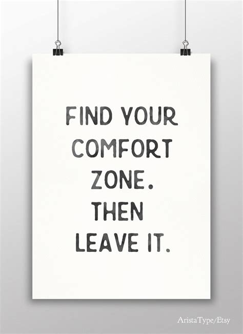 Motivational Quotes About Comfort Zone