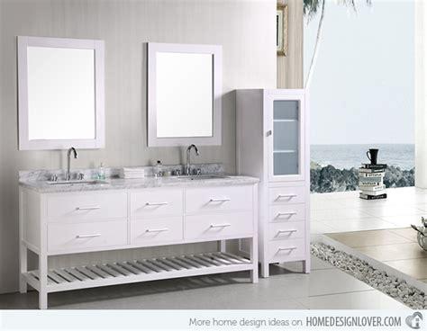 Modern Double Sink Bathroom Vanity Sets-decoration