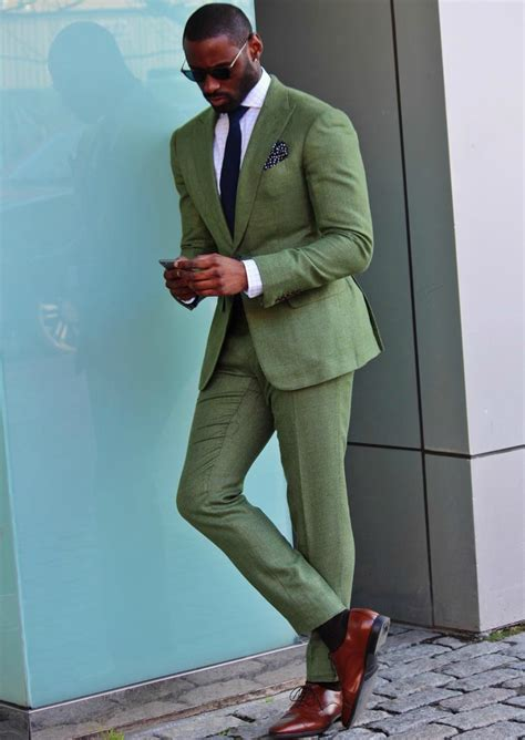 How to Wear Olive Green | Menu0026#39;s fashion Man style and Dapper