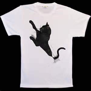 cat t shirt animal black cat scratch t shirts big cat t