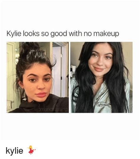 No Makeup Meme - best kylie jenner no makeup meme for you wink and a smile