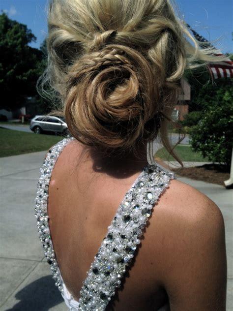 pretty hair hipster model curls braid prom mypix prom hair