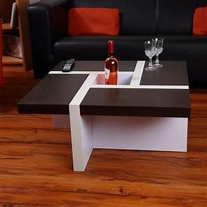 Couchtisch Braun Weiss : couchtisch beistelltisch wohnzimmertisch tisch designertisch wei schwarz braun ebay ~ Pilothousefishingboats.com Haus und Dekorationen