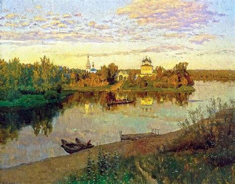 Evening Bells by Isaac Levitan ️ - Levitan Isaac