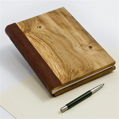 Wooden Book by Wooden Notebook A5 Size Book Binding Wood Book