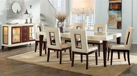 affordable contemporary dining room table sets  chairs  sale    piece pc sets