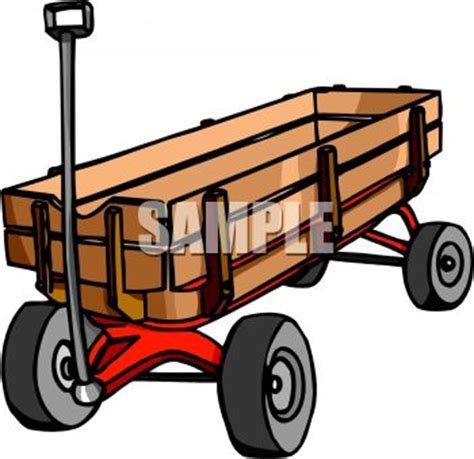 Wagon Clip by Wooden Wagon Clipart Clipart Suggest