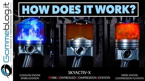 mazda skyactiv  engine    work