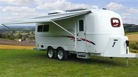 luxury fiberglass camper  oliver travel trailers small