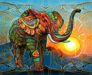 phone background! elephant art | ellie obsess | Pinterest ...