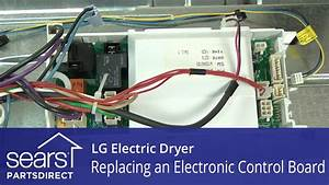 How To Replace An Lg Electric Dryer Electronic Control