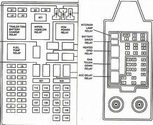 Break Light 2000 Ford Expedition Fuse Diagram
