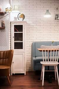projet d39interieur pour coffee shop par francisco segarra With meubles vintage en ligne