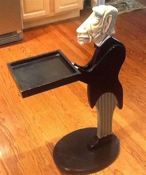 vintage bombay company james  butler tray server