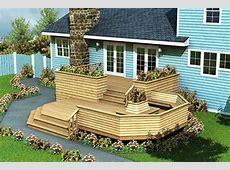 Project Plan 90010 Luxury Split Level Deck