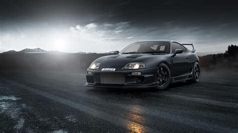 Toyota, Supra, Stance Wallpapers Hd / Desktop And Mobile