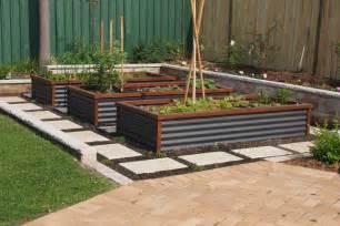 corrugated metal raised garden beds linkshtm die besten 17 bilder zu denver house ideas auf
