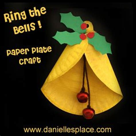 paper plate christmas bell craft for kids www