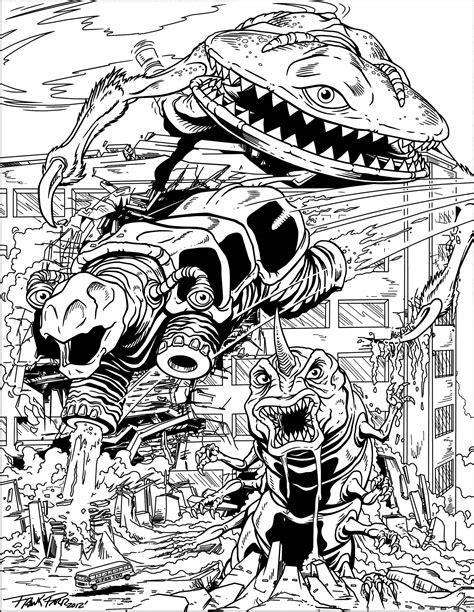 Mega monsters Frank Parr Myths & legends Adult Coloring