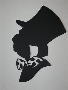 alice in wonderland silhouettes | Mad Hatter | Disneyyyy ...