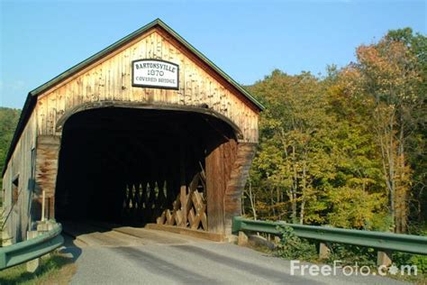 bartonsville covered bridge vermont pictures