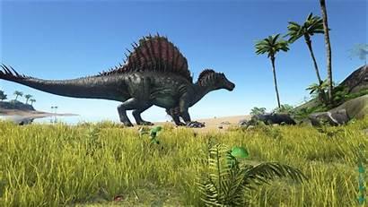 Ark Survival Evolved Spinosaurus Wiki Wikia Screenshot
